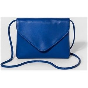 Envelope-Flap Crossbody Handbag - Mossimo -Cobalt
